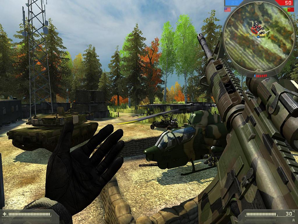 мод для Battlefield 2 Real War скачать img-1
