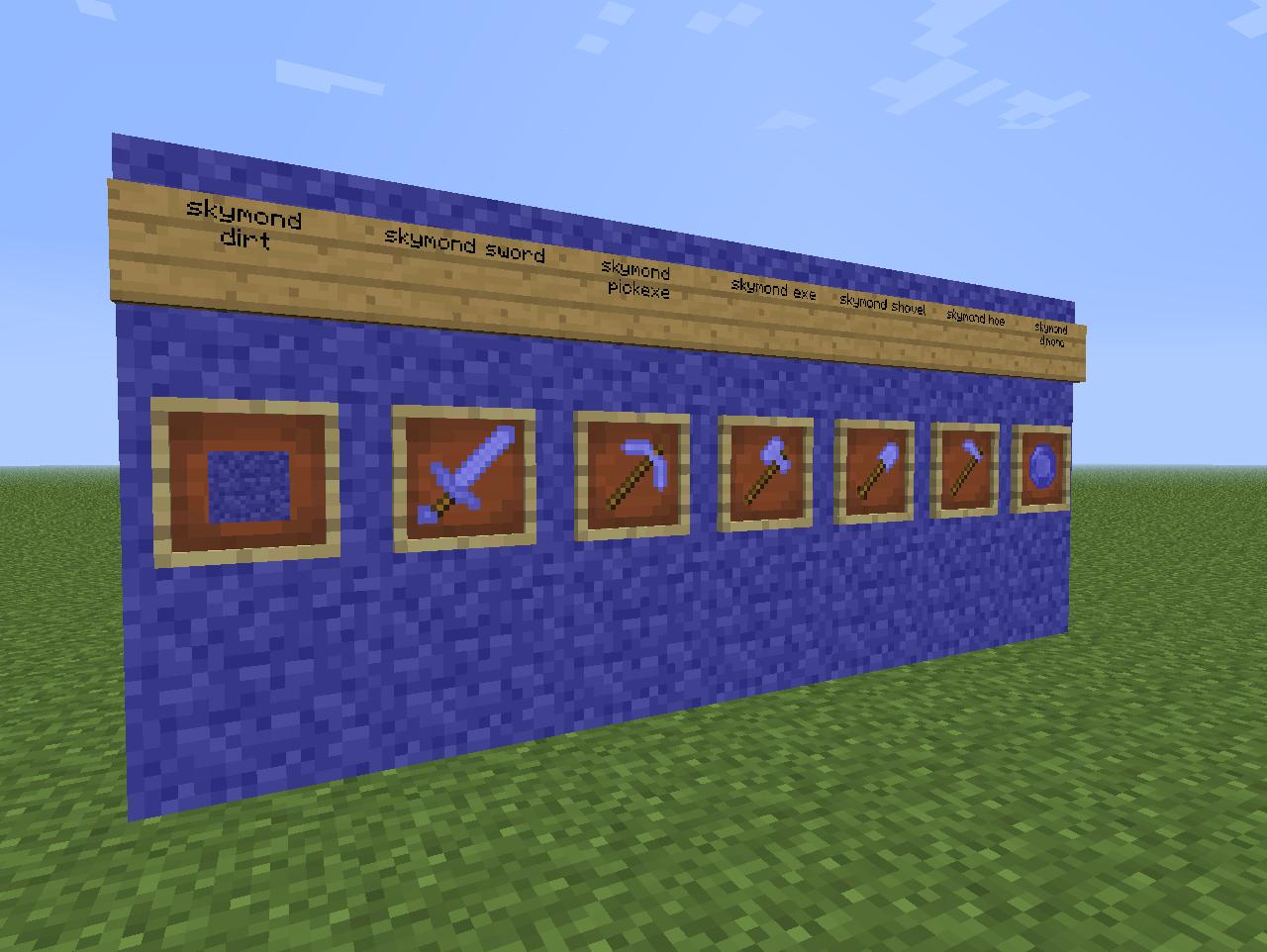 skymond mod for Minecraft Mod DB
