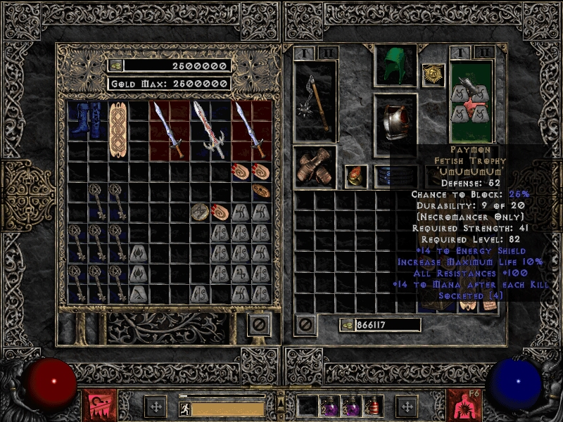 Diablo  New Craft Items
