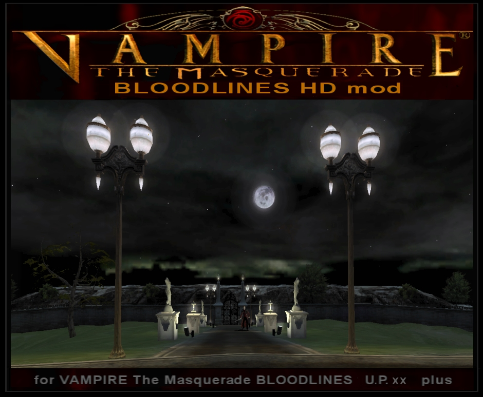 BLOODLINES Hard Difficulty mod VTMB UP 8.7 8.8
