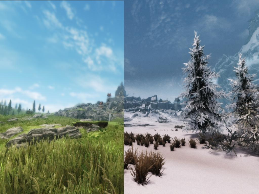 Seasons of Skyrim - Summer & Winter mod - Mod DB