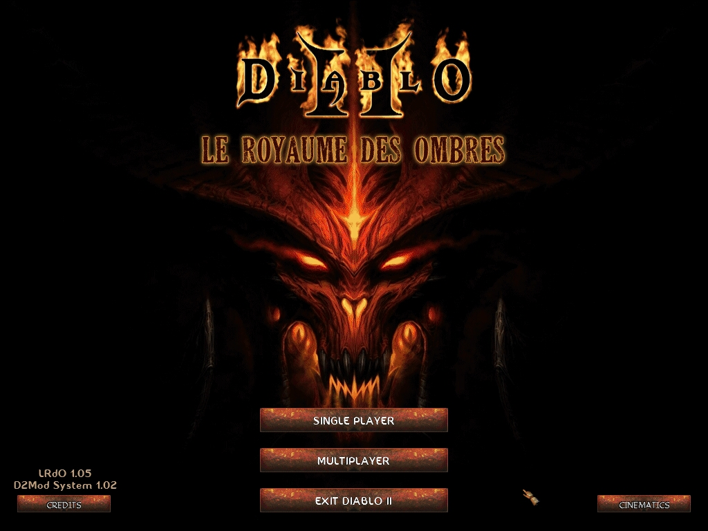 Menu Image Le Royaume Des Ombres Mod For Diablo Ii Lord Of