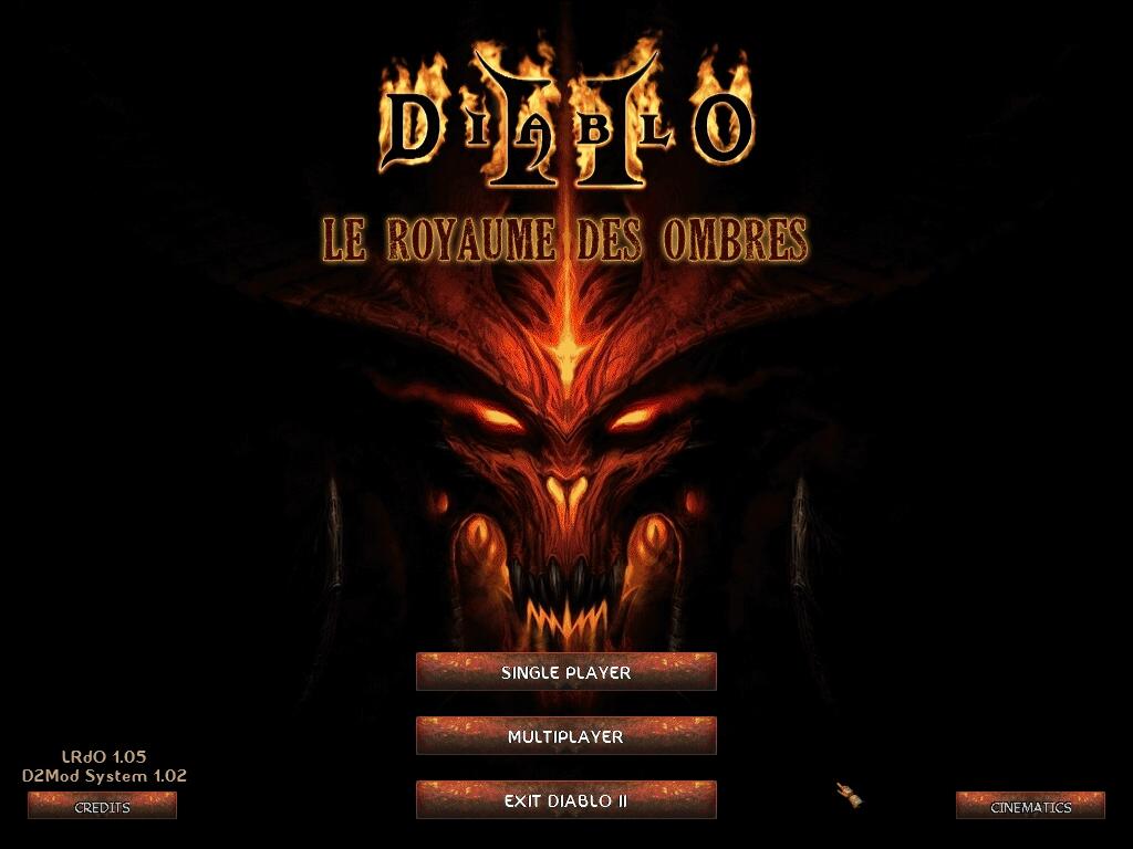 Menu image le royaume des ombres mod for diablo ii lord - Diablo 2 lord of destruction wallpaper ...