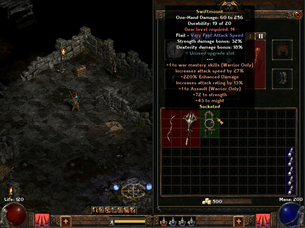 how to add sockets to armor diablo 2