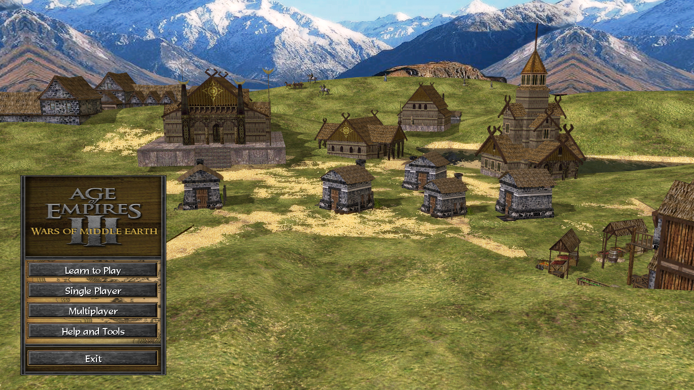 Edoras image - Wars of Middle-Earth mod for Age of Empires