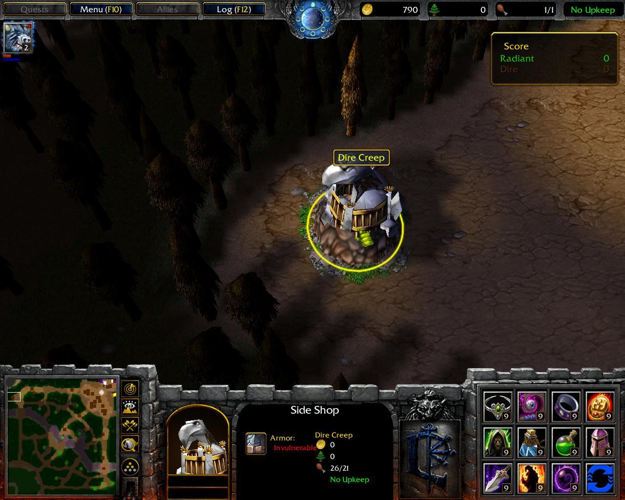Warcraft frozen Throne Dota