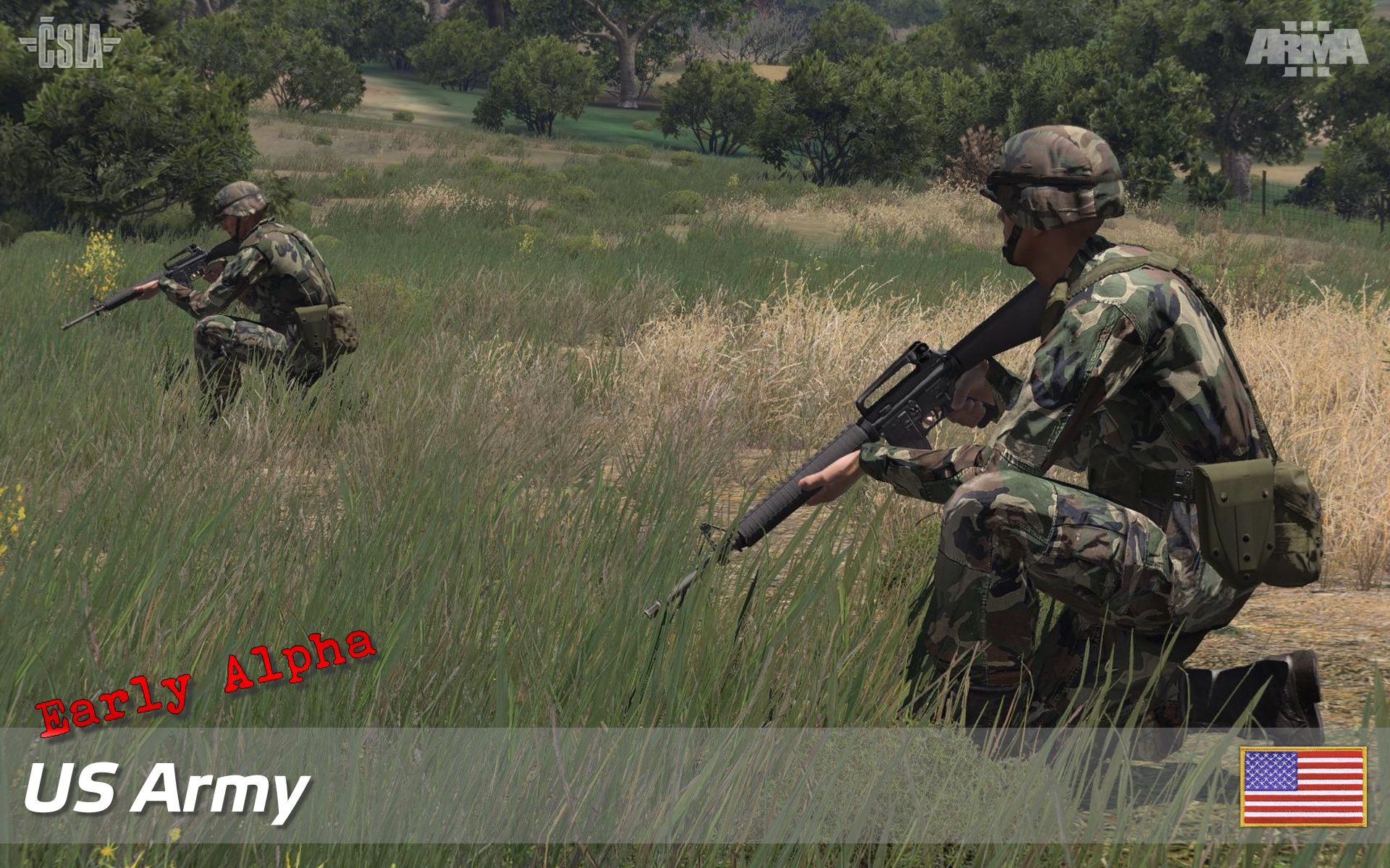 Us Army And Csla Riflemen Early Alpha