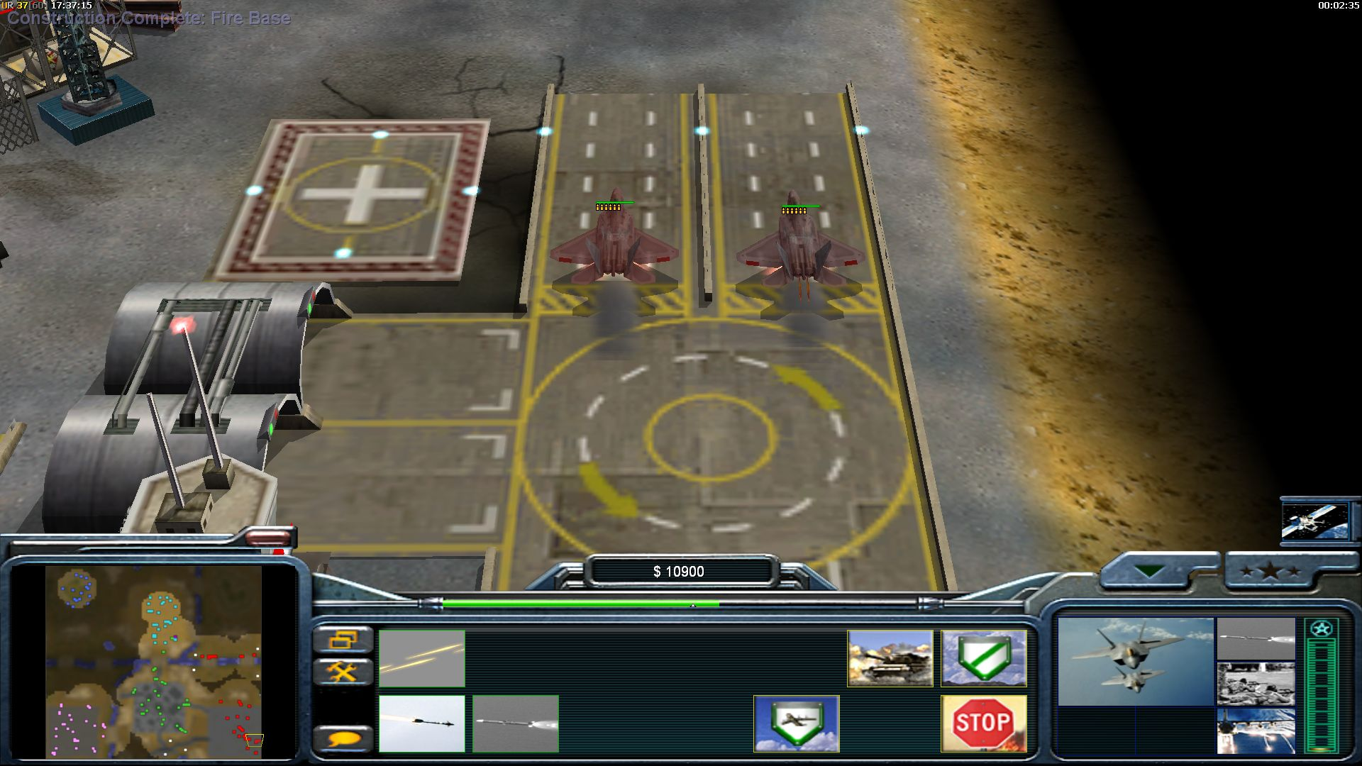Usaf image - earth conflict mod for cc: generals zero hour