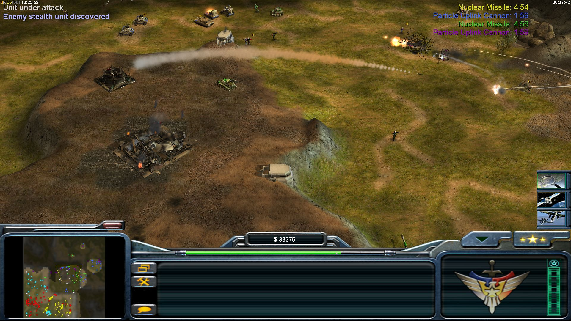 Missile exhaust image - earth conflict mod for cc: generals zero hour