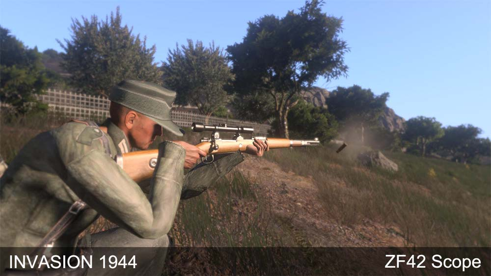 ZF42 Scope image - Invasion 1944 v3 mod for ARMA 3 - Mod DB