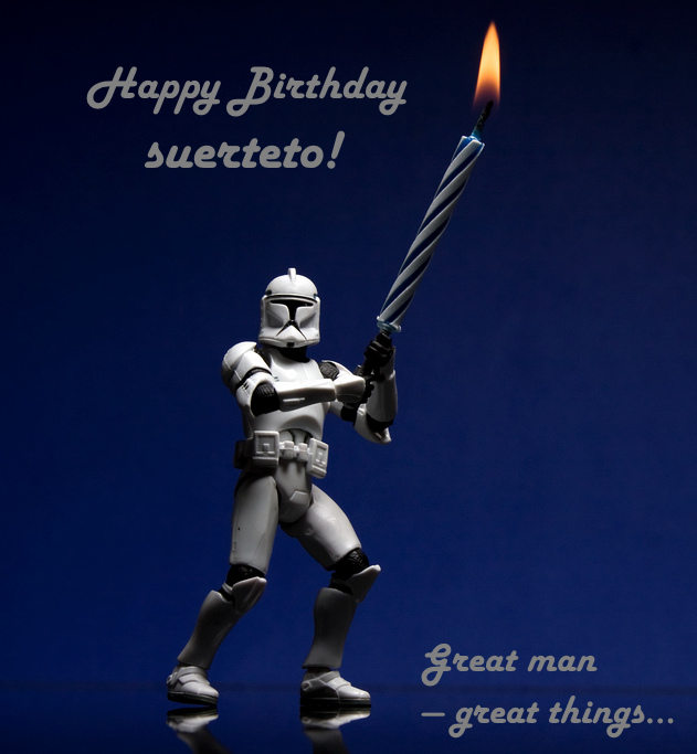 Happy Birthday, Suerteto! Image