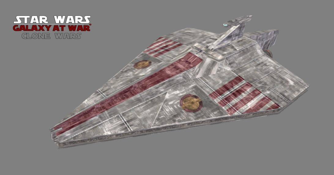 Acclamator Class Assault Ship Image Galaxy At War The Clone Wars