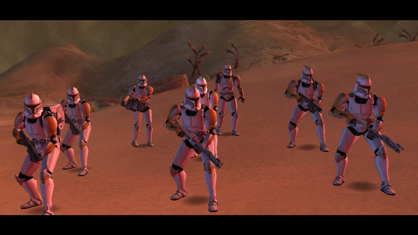 Ghost Company Phase 1 Regulars Image Galaxy At War The Clone Wars