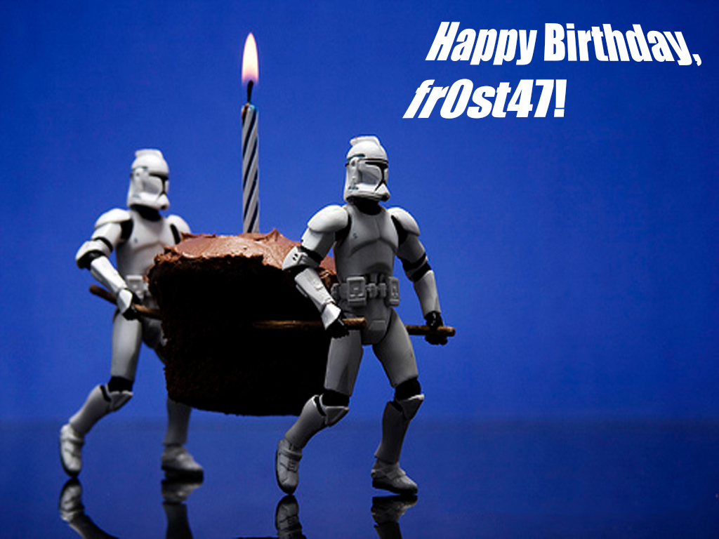how to say happy birthday to a star wars fan