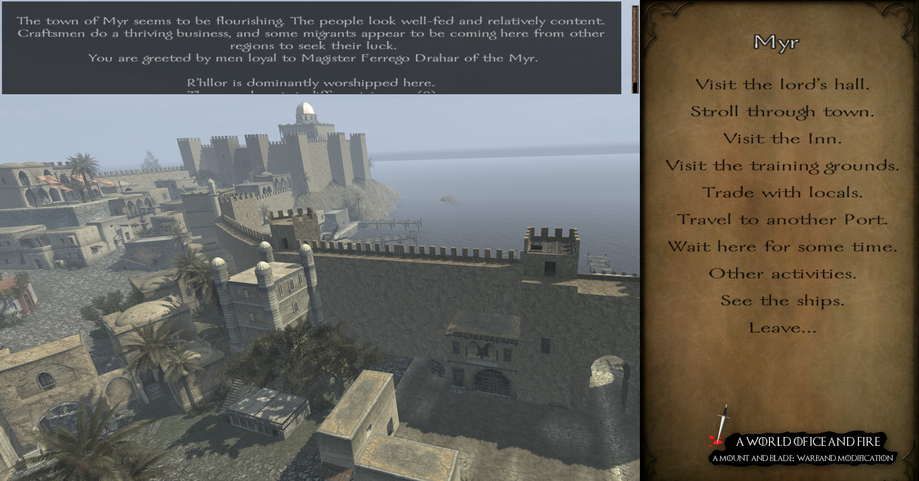 Mount blade warband game of thrones mod indir