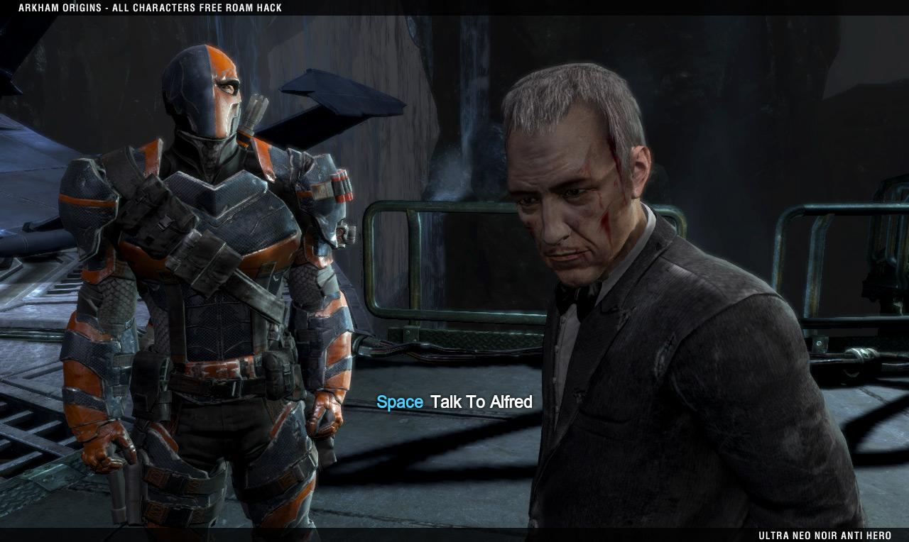 Free roam character image - batman arkham origins ...