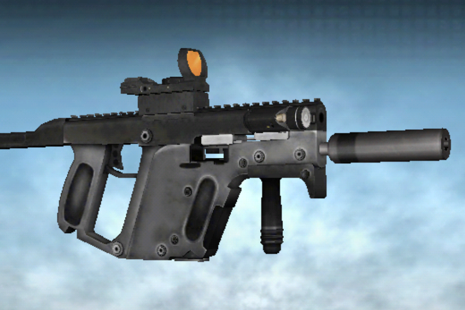 kriss vector 45 custom image battlefield 2 world at war mod for