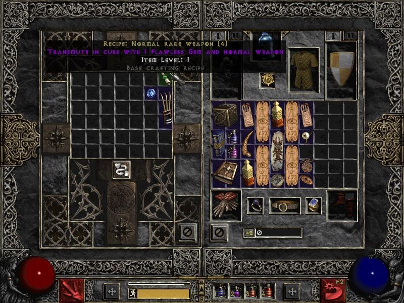 Diablo 2 Lord Of Destruction Crafting Recipes | Sante Blog