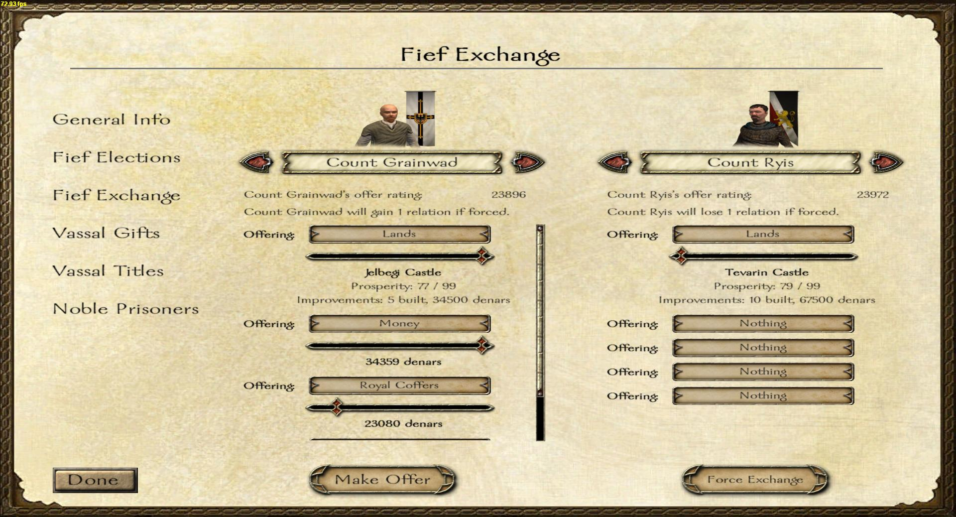 Fief Exchange image - Silverstag mod for Mount & Blade: Warband - Mod DB