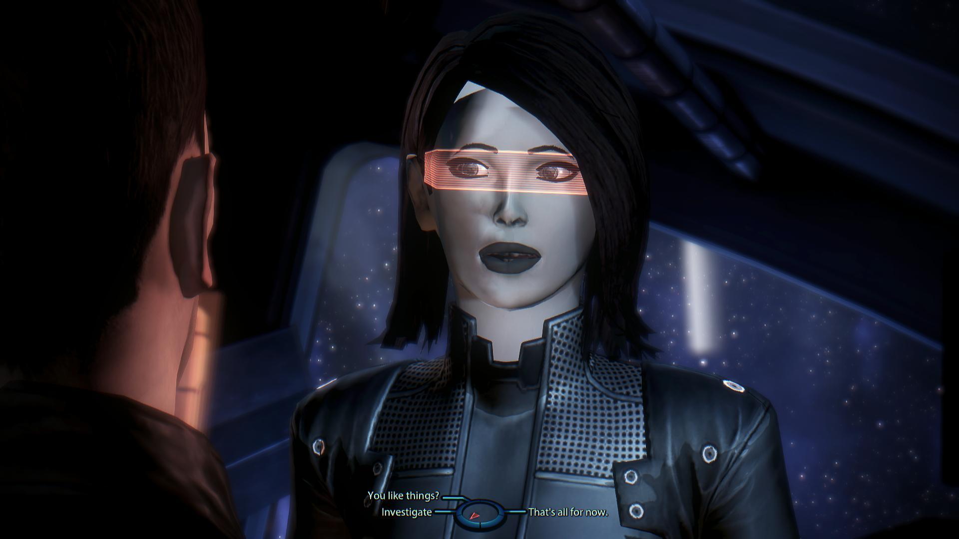 Edi Mass Effect edi head mod for mass effect 3 - mod db
