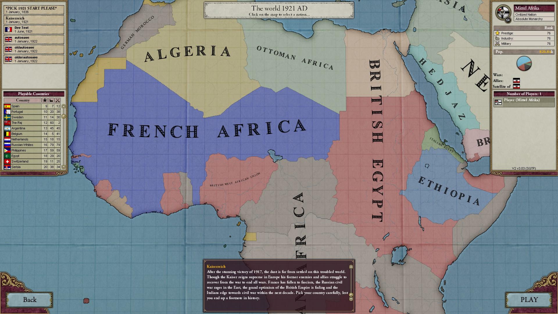 Vic II Kaiserreich Africa Image Mod DB - Victoria 2 africa map