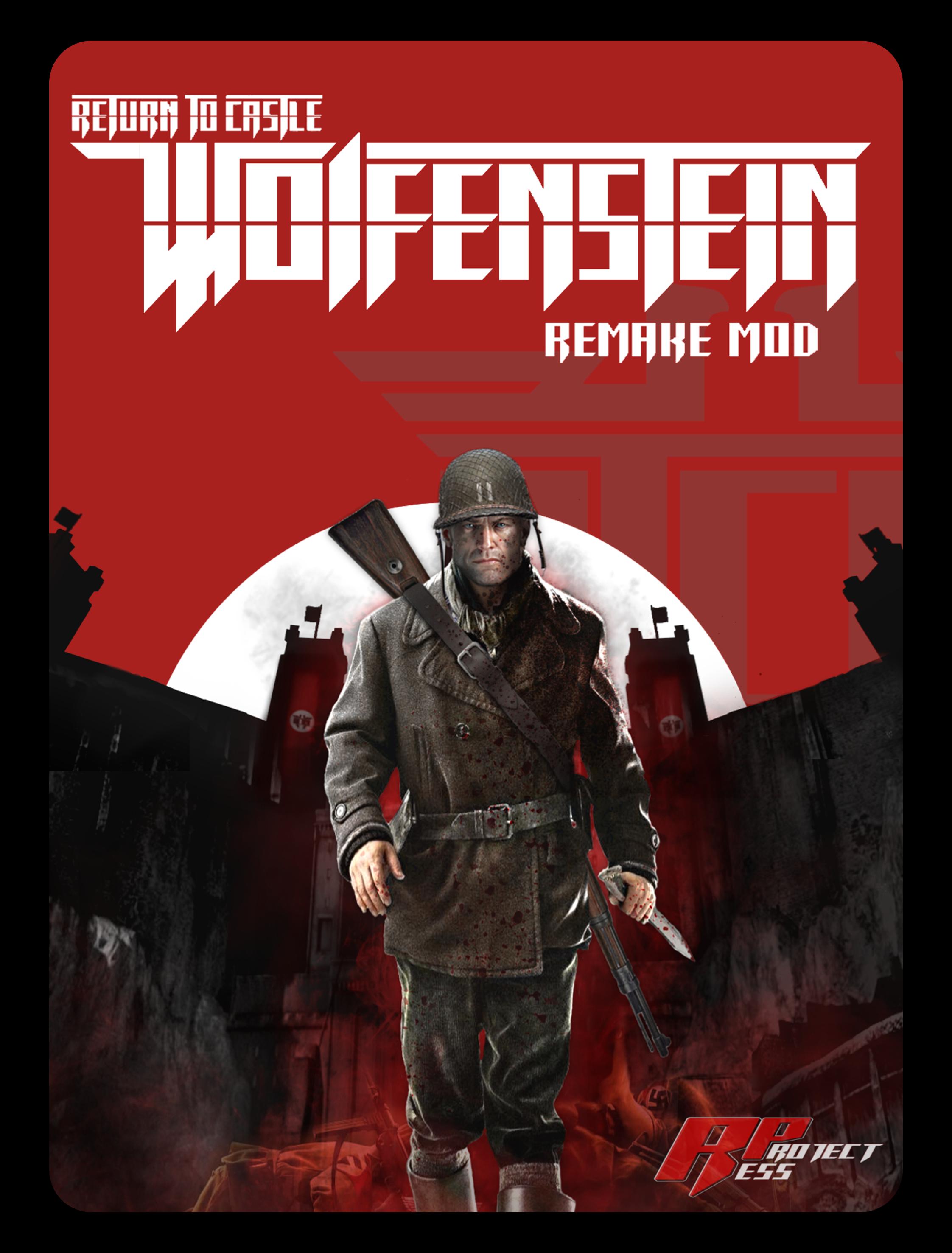 RTCW REMAKE MOD BETA V2 GRAPHIC in Wolfenstein 2 The New Colossus