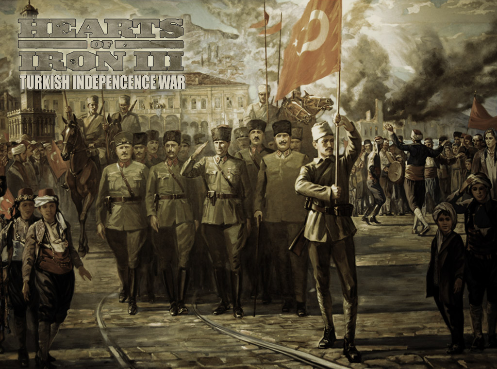 Turkish War Of Independence mod for Hearts of Iron III ...