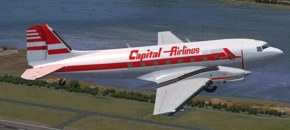 Capital Airlnes Turbo DC-3 repaint image - Cirrus N210MS