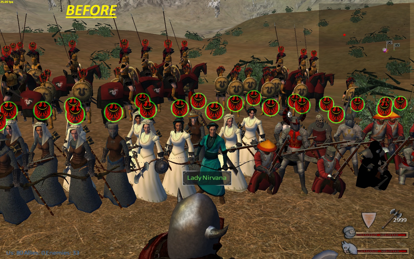 Ladies warband What Does