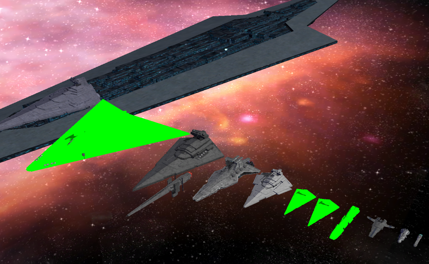 ships of the line image fear the dark side mod for star wars