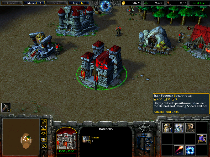 Warcraft iii battle tank