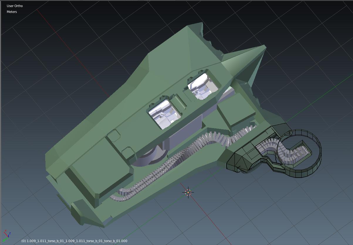 WK-209 Combat Walker Full Interior image - Lost Dragons mod for ARMA