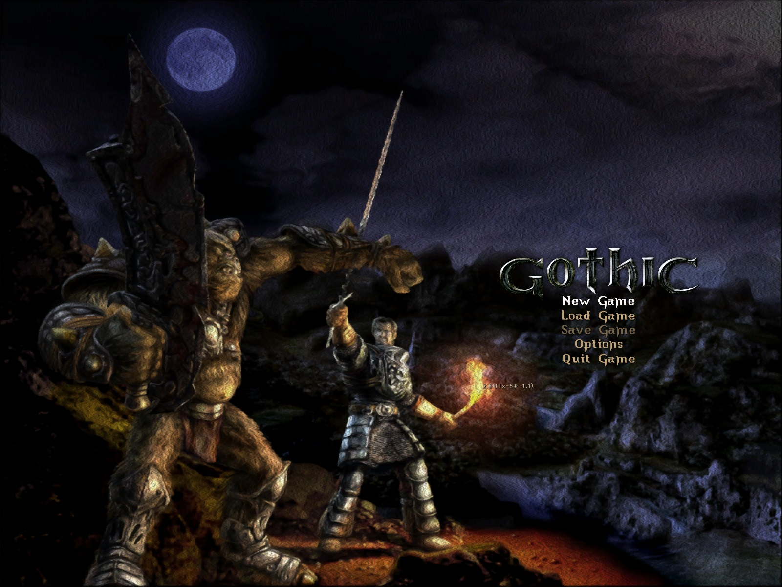 New Splashscreen image - Gothic 2 - Requiem mod for Gothic II - The Night of the Raven - Mod DB