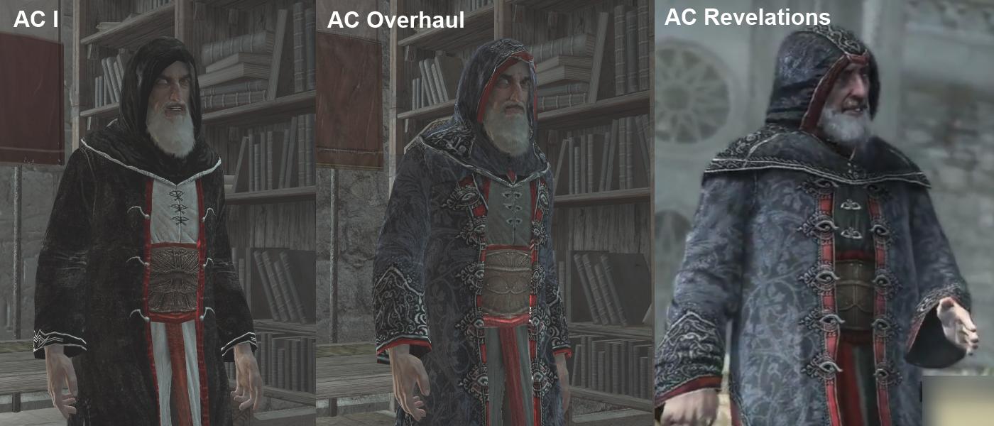 Al Mualim 2015 complete image - Assassin's Creed overhaul ...