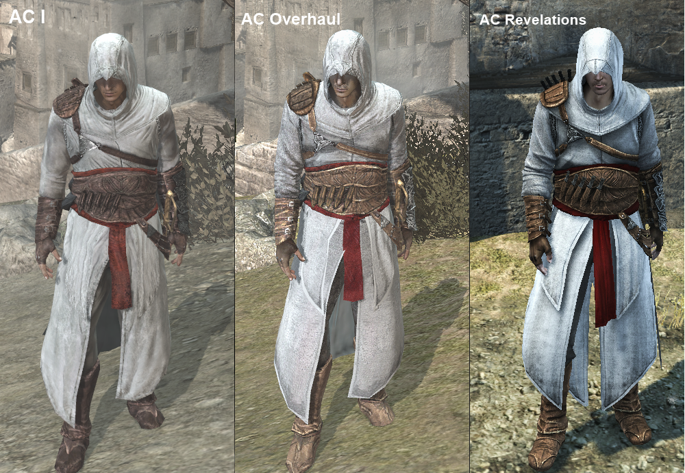 is there any good mods for the games assassinscreed
