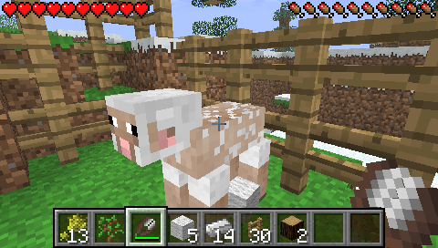 Sheep Image Minecraft Psp 2 0 Release Mod For Lamecraft Mod Db
