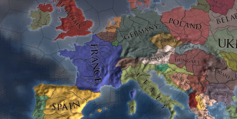 Europe image - The Glory of The Nations mod for Europa Universalis