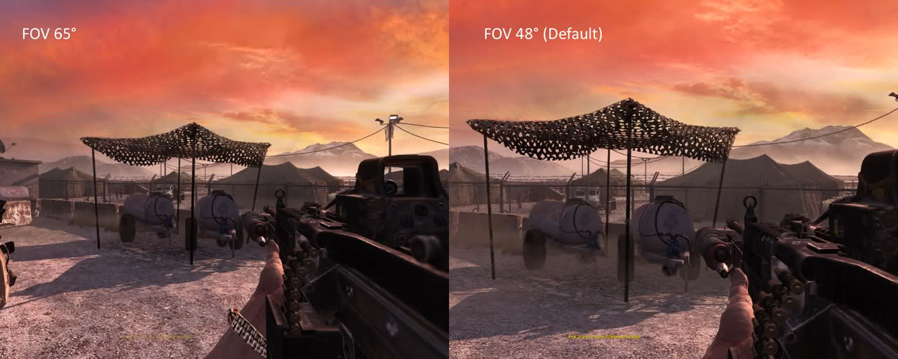 how to change fov in fnv