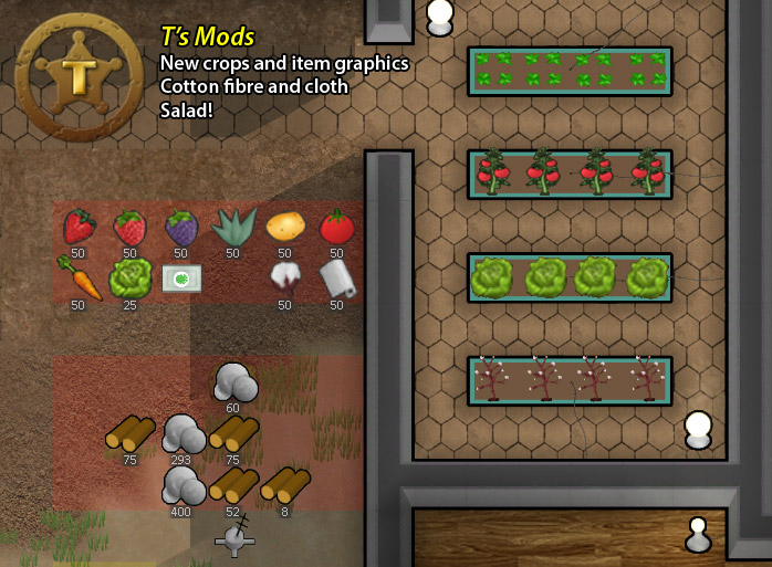 T's Mods - new crops, graphics, and salad mealtype image - Mod DB
