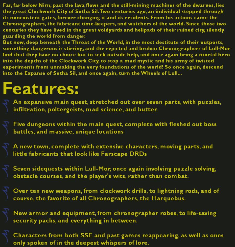 The Wheels of Lull mod for Elder Scrolls V: Skyrim - Mod DB