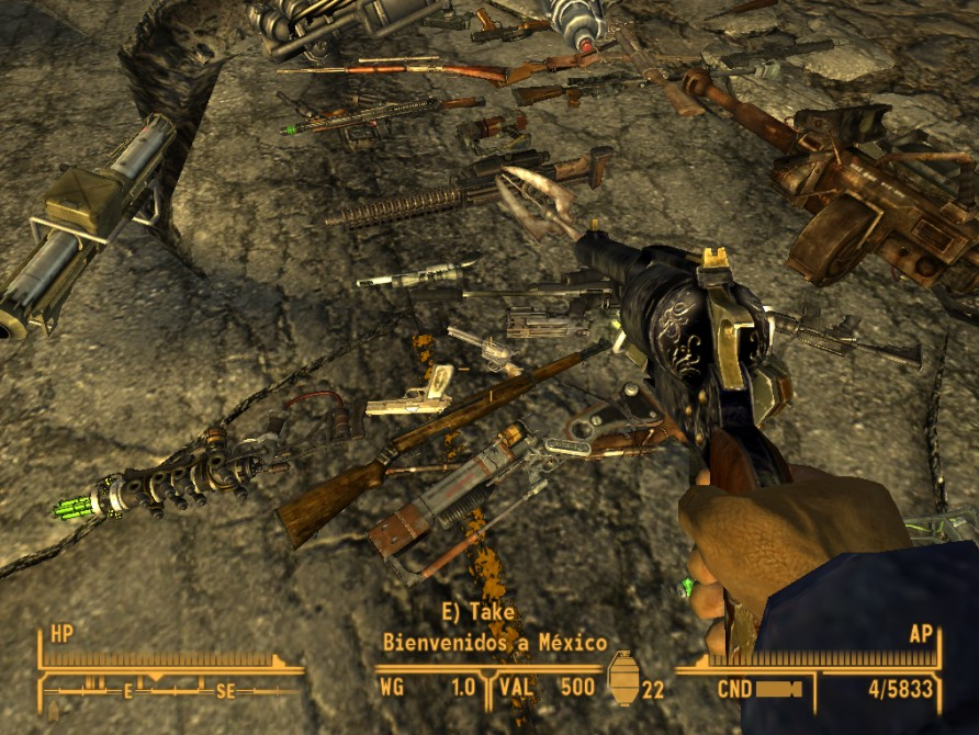 New Unique Weapons mod for Fallout: New Vegas - Mod DB