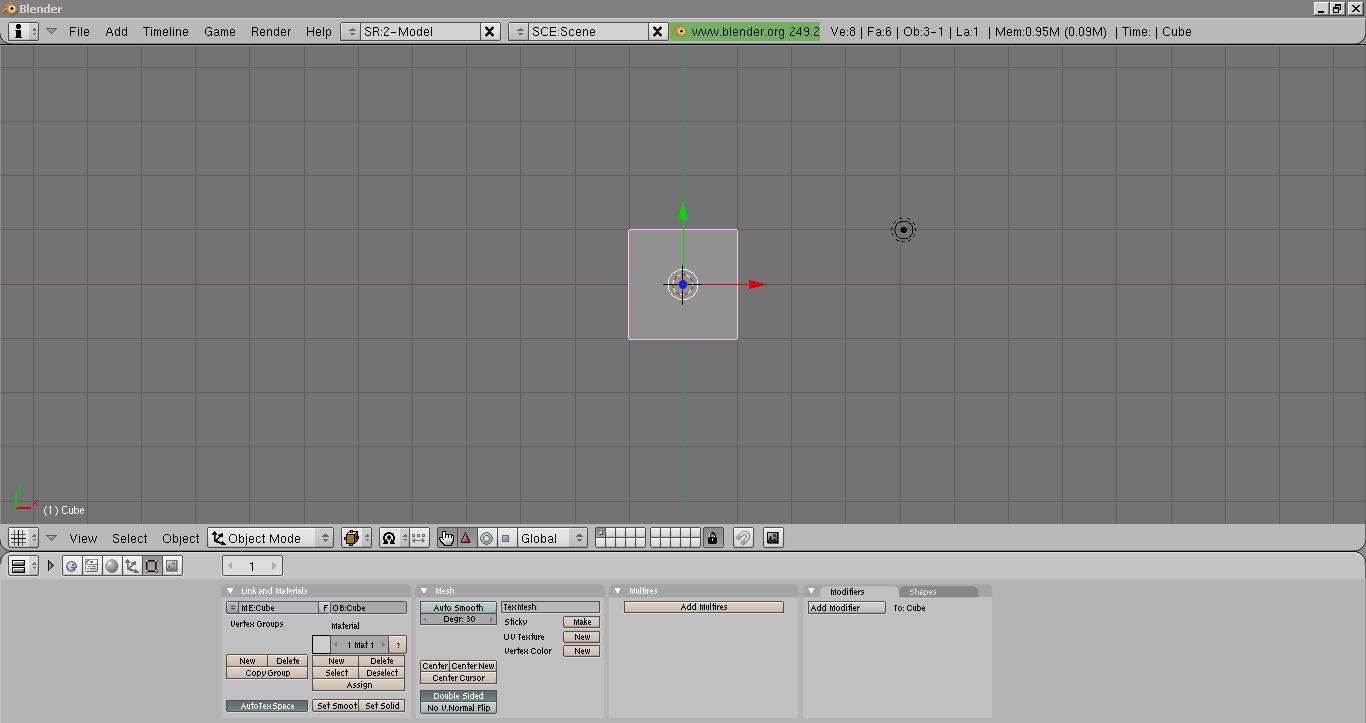 Blender version 2 49b image - Modders Resource Package mod for