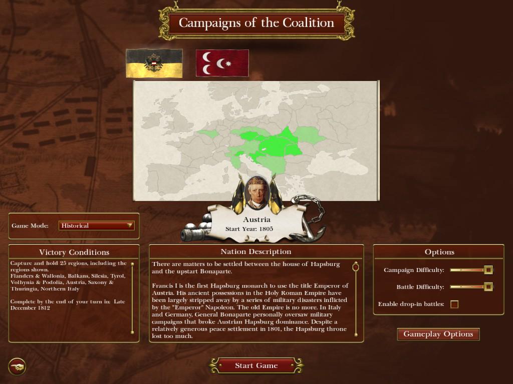 Austria And Ottoman Empire Mod for Napoleon: Total War - Mod DB