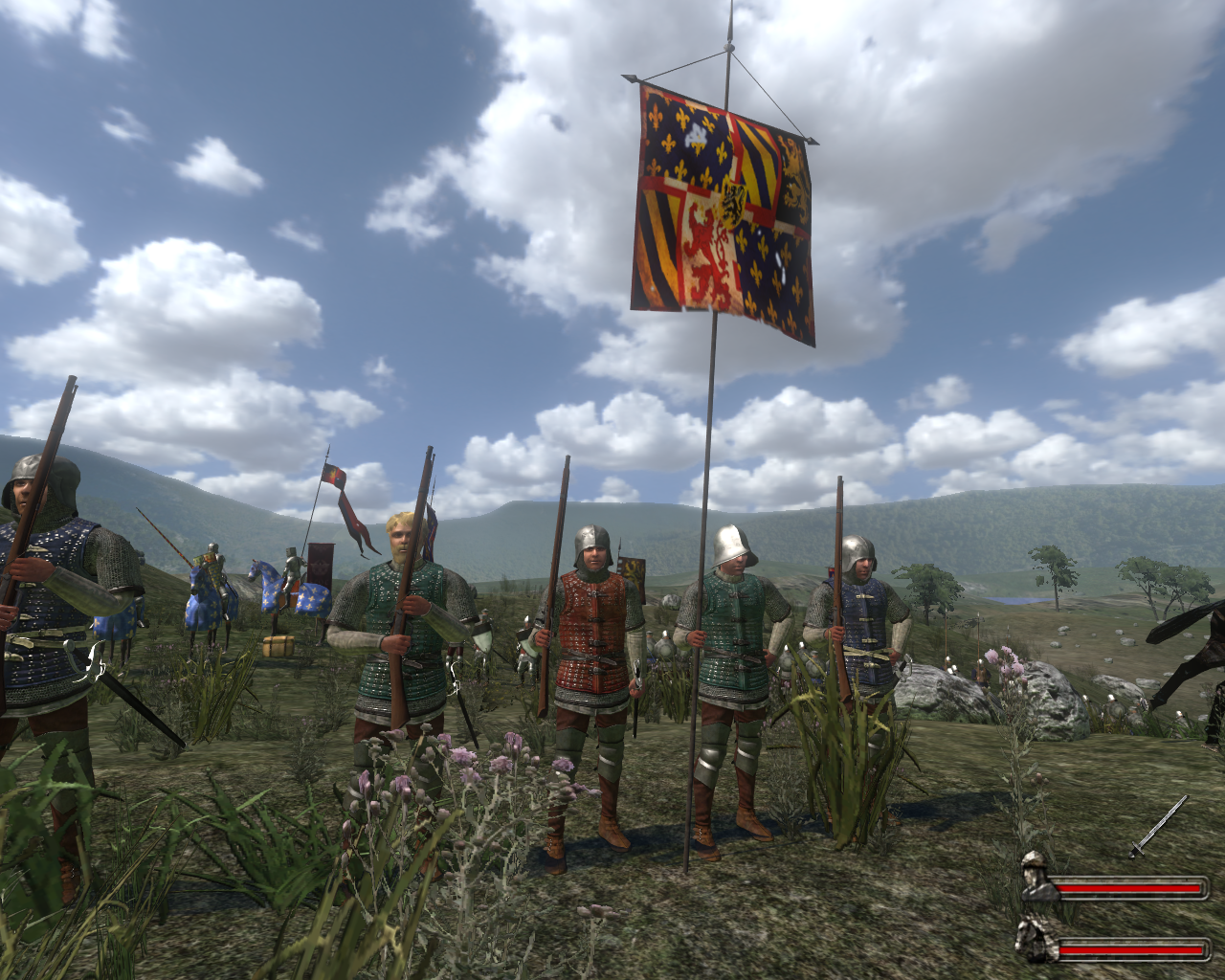 v2 0 battle flags image nova aetas mod for mount   blade lookie what i got