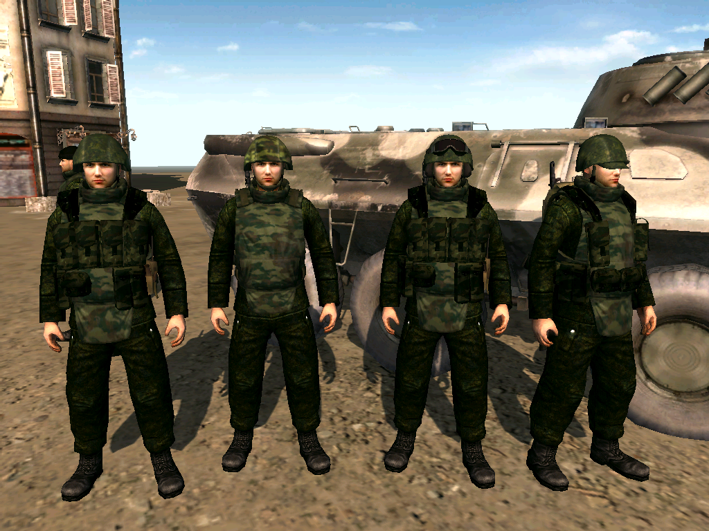 Russian msv image arma magna mod for men of war assault for The russian mod
