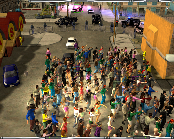 Screenshot image - 911 First Responders More Protests mod for