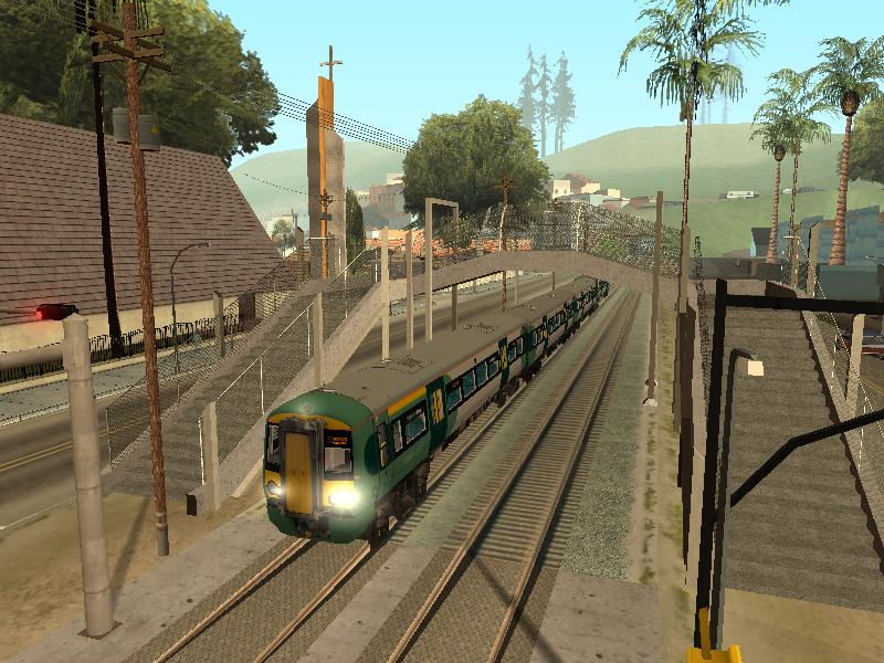 Real Driving Games >> UK Train Mod Class 377 Southern for Grand Theft Auto: San Andreas - Mod DB