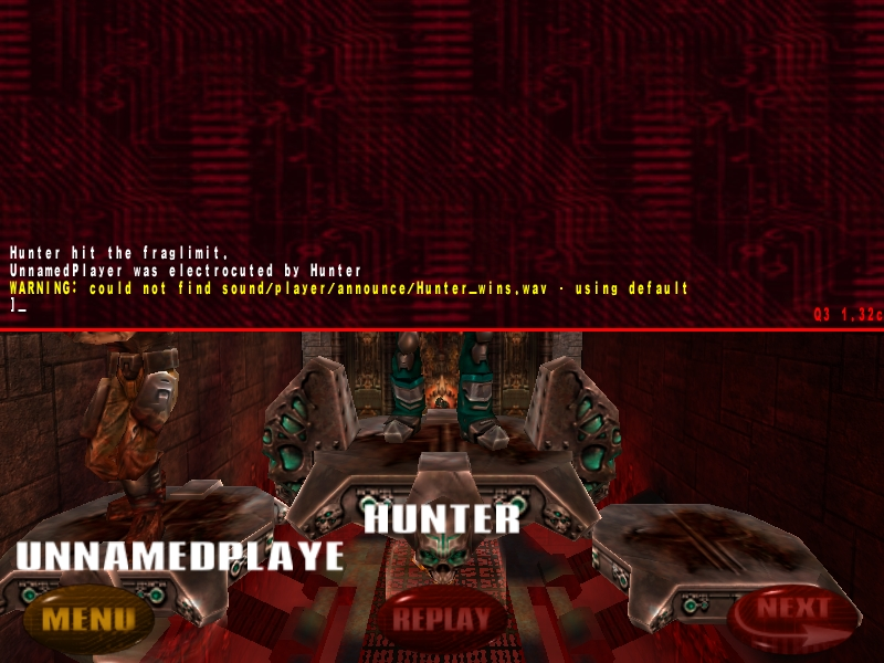 Quake 3 Arena Point Release 1.32 Patch