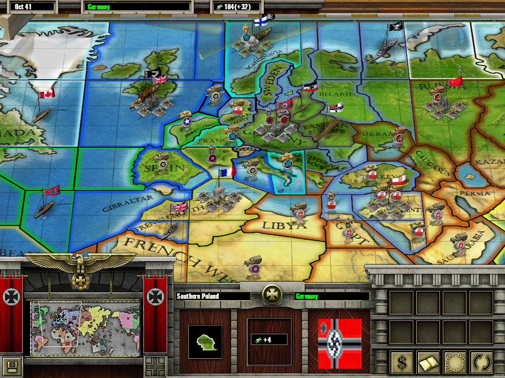 Southern Poland Map.Axis Allies Rts Map Southern Poland Image Mod Db