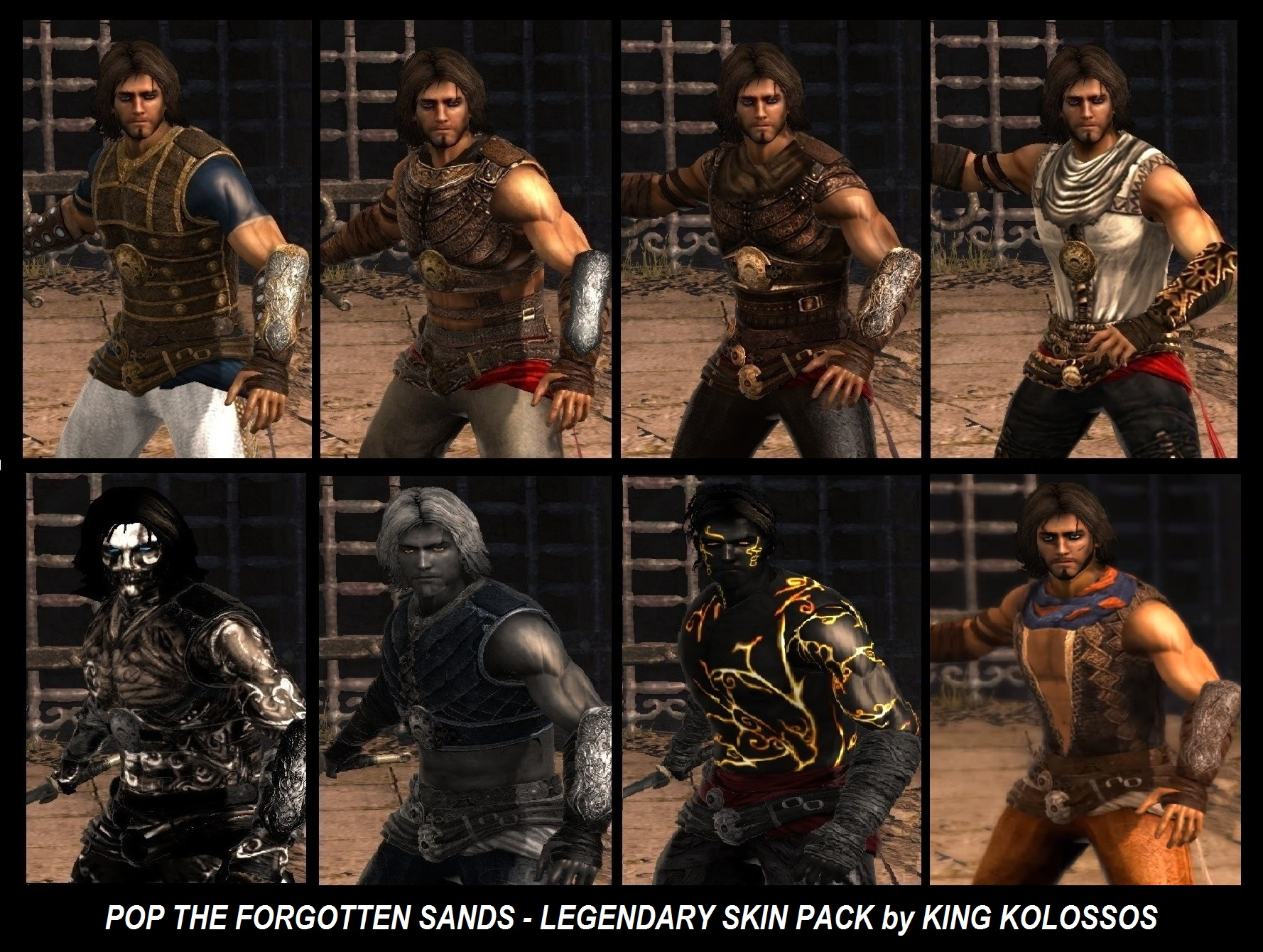Wallpaper Image Prince Of Persia The Forgotten Sands Skin Mod
